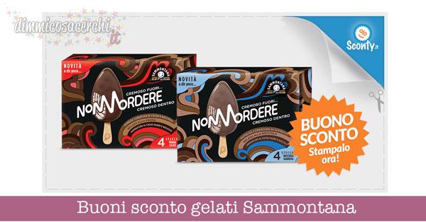 Buoni sconto gelati Sammontana