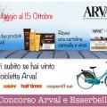 Con Arval e Esserbella vinci una Bicicletta