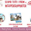 """Concorso Babybel """"SuperSupporter"""", vinci buoni spesa e viaggi"""