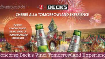 Concorso Beck's Vinci la Tomorrowland Experience