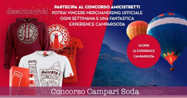 Concorso Campari Soda, vinci magliette ed Experience