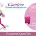 Concorso Carefree, vinci voucher viaggio 3.000€