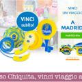 Concorso Chiquita, vinci viaggio a Madrid e gadget