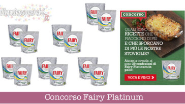 Concorso Fairy Platinum Desideri magazine
