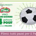 Concorso Fileni: tutti pazzi per il Pallone pouf