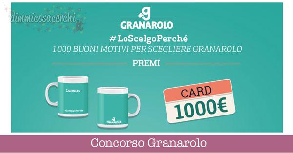 Concorso Granarolo, vinci buono spesa da 1.000€ e set da colazione