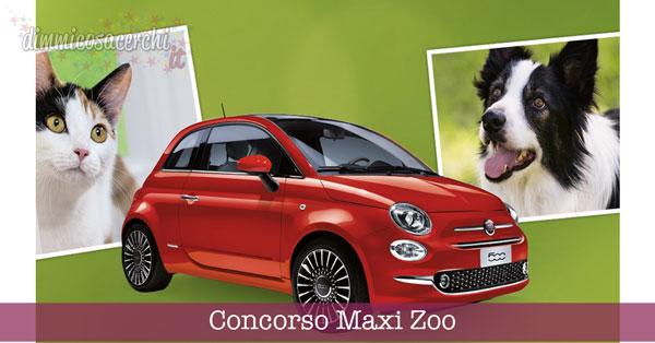 Concorso Maxi Zoo, vinci auto e buoni spesa