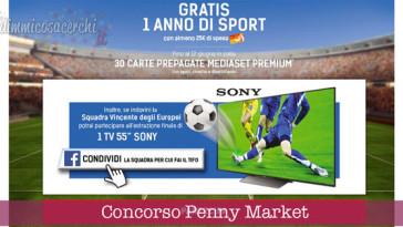 Concorso Penny Market, vinci 1 anno di sport