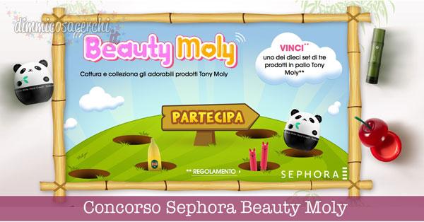 Concorso Sephora Beauty Moly