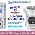Concorso bicarbonato Solvay vinci Moulinex Couisine Companion