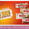 Concorso Wudy Aia, vinci buoni spesa da 100€