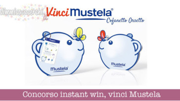 Concorso instant win, vinci Cofanetto orsetto Mustela