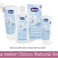 Diventa tester Chicco Natural Sensation