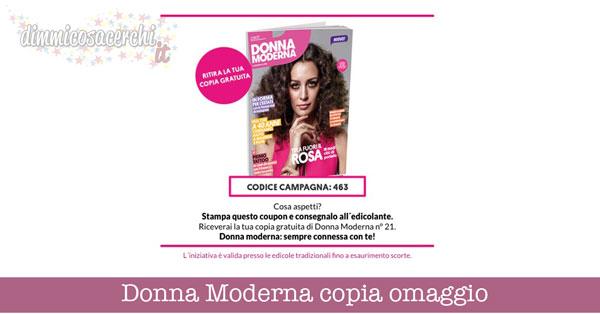 Copia omaggio Donna Moderna