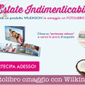 Fotolibro omaggio con Wilkinson