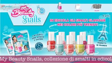 My Beauty Snails, collezione di smalti in edicola