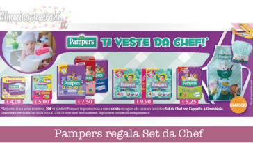 Pampers regala Set da Chef