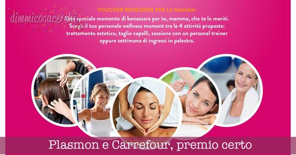 Plasmon e Carrefour ti regalano voucher benessere