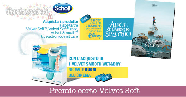 Velvet Soft ti regala cinema Disney