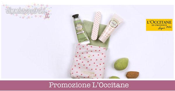 Promozione L'Occitane, kit mani in regalo