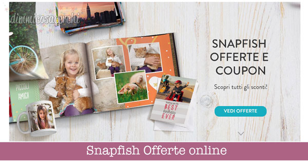 Snapfish Offerte online