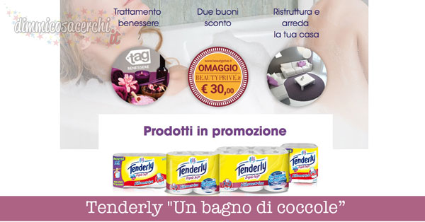 "Tenderly ""Un bagno di coccole"