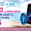 Vinci Samsung Galaxy S7 con Enervit