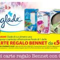 Vinci carte regalo Bennet con Glade