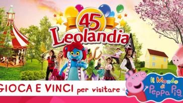 Vinci con Peppa Pig ingressi Leolandia
