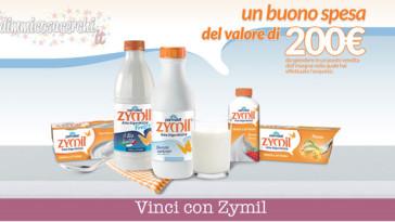 Vinci buoni spesa da 200€ con il concorso Zymil