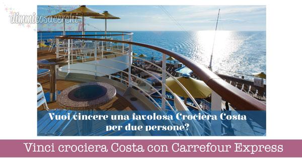 Vinci crociera Costa con Carrefour Express