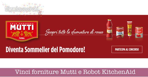 Vinci forniture Mutti e Robot da Cucina KitchenAid