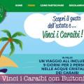 Vinci i Caraibi con Buitoni