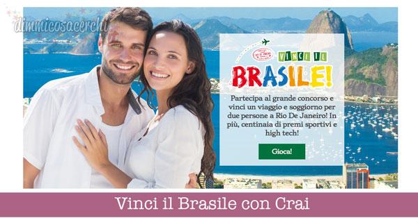 Vinci il Brasile con Crai