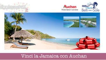 Vinci la Jamaica con Auchan