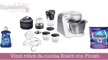 Vinci robot da cucina Bosch con Finish e Ipercoop