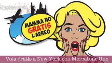 Vola gratis a New York con Mercatone Uno