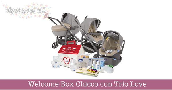 Welcome Box Chicco con Trio Love