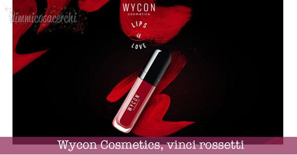Wycon Cosmetics, vinci rossetti