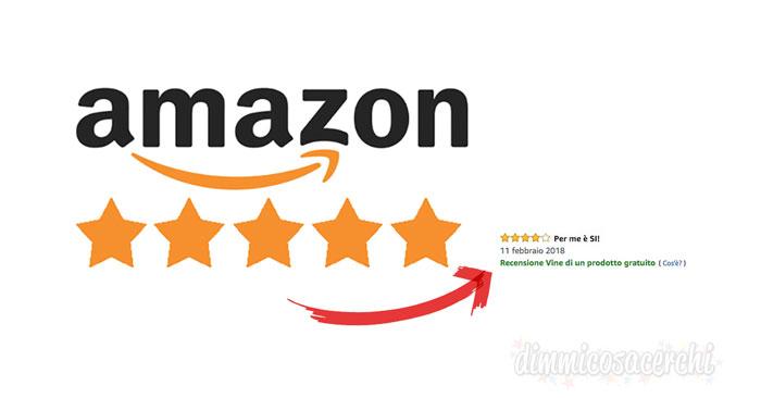 Prodotti omaggio con Amazon Vine