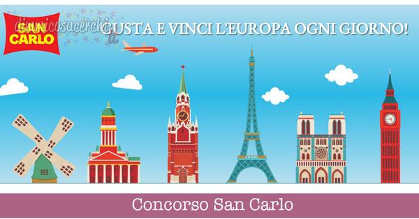 Concorso San Carlo, vinci voli capitali europee