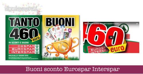 Buoni sconto Eurospar Interspar
