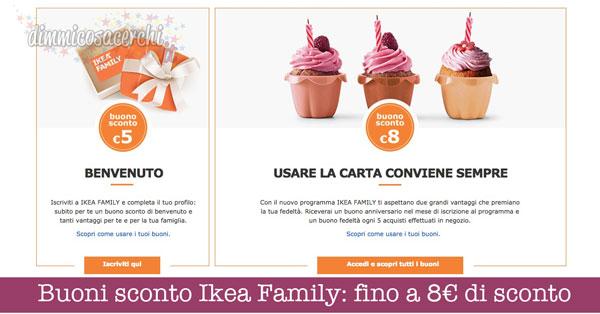 Buoni Sconto Ikea Family Fino A 8 Di Sconto