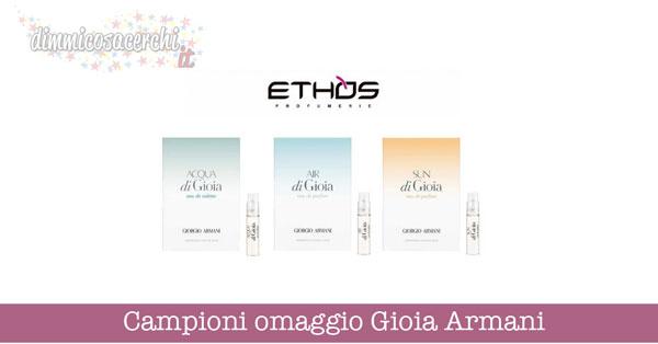 Campioni omaggio Gioia di Giorgio Armani
