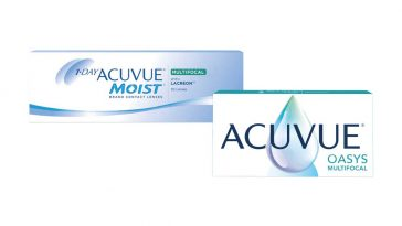 Campioni omaggio lenti a contatto Acuvue