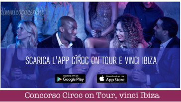 Concorso Ciroc on Tour