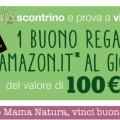 Concorso Mama Natura, vinci buono Amazon
