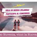 Concorso Nuvenia, vinci la Nuova Zelanda
