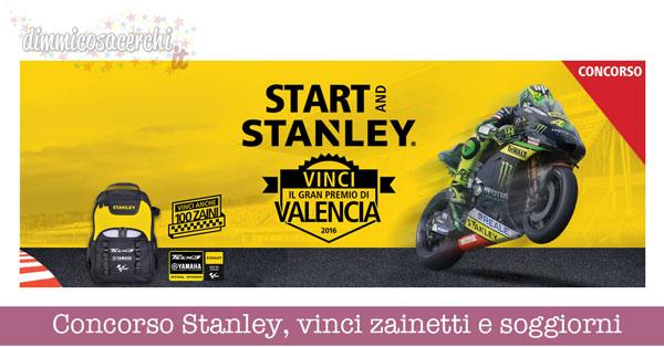 Concorso Stanley, vinci zainetti e soggiorni