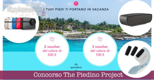 Concorso The Piedino Project